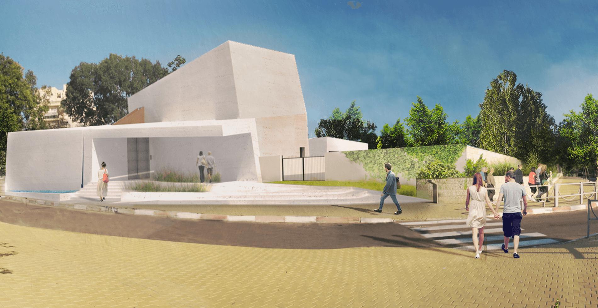 הדמייה של המוזיאון