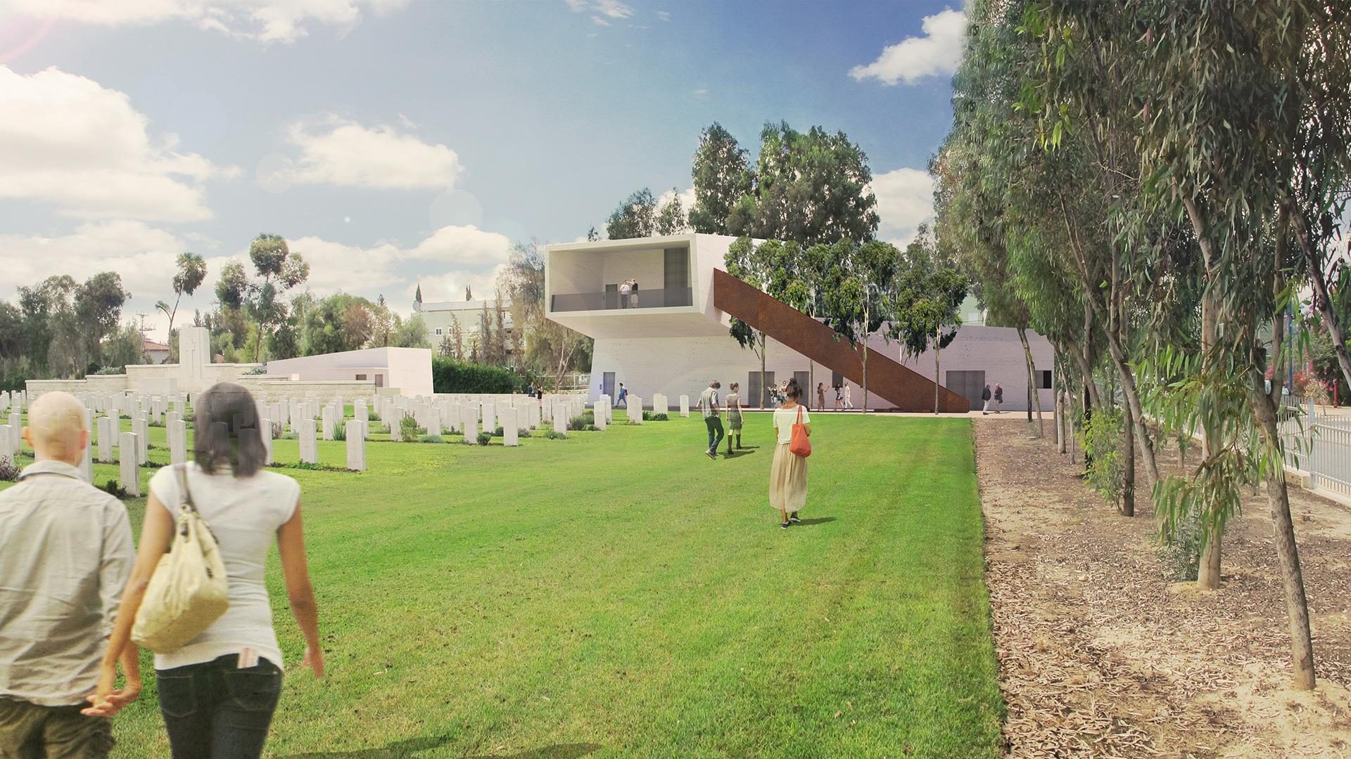 הדמיה של המוזיאון